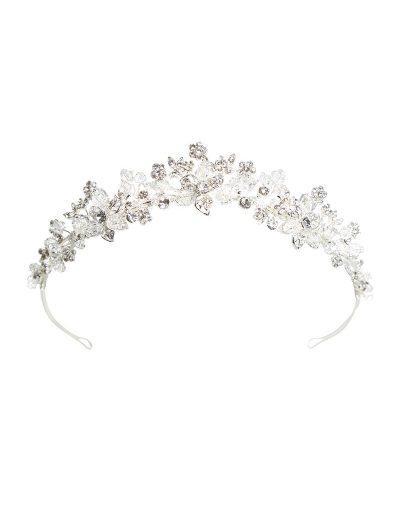 Silver tiara AW1022